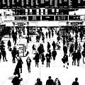 Commuter Art London Sketch by David Pyatt