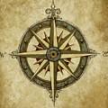 Compass Rose by Judy Merrell