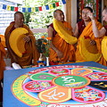 Compassion Mandala Ceremony by Claire McGee