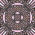 Complex Geometric Abstract by Gaspar Avila