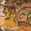 Composition Green Eye by Stanislaw Ignacy Witkiewicz