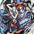 Composition  by Nino Bitsadze
