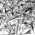 Composition Three by Vladimir Kozma