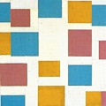 Composition With Color Planes by Mondrian