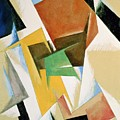 Compostion 1921 by Lyubov Sergeevna Popova