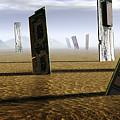 Computer Circuit Board Graveyard by Tim Vernonlth Nhs Trust