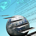Conceptual Music World  by Angel Jesus De la Fuente