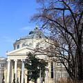 concert hall in Bucharest, Romania by Vladi Alon