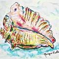 Conch Shell by Monique Faella