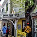 Conch Tour Train Stop by Maria Keady