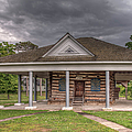 Concorida Log Cabin College  by Larry Braun