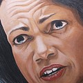 Condaleezza Rice by Kenneth Kelsoe