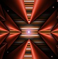 Cone Red Convergence by Ron Bissett