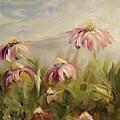 Coneflowers by Donna Tuten