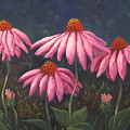 Coneflowers by Laura Roberts