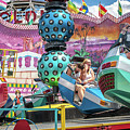 Coney Island Amusement Ride by Dawn Ferragamo