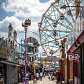 Coney Island Boardwalk IIi by Dawn Ferragamo
