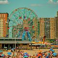 Coney Island by Dorival Moreira