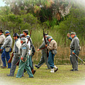 Confederate Advance by Tom Claud