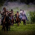 Confederate Cavalry Charge by Tommy Anderson