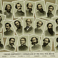 Confederate Commanders Of The Civil War by Daniel Hagerman