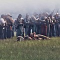 Confederate Infantry Skirmish  by Tommy Anderson