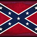 Confederate Rebel Battle Flag by Daniel Hagerman