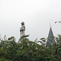 Confederate Soldier Standing Tall by Bill And Deb Hayes