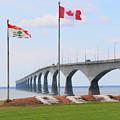 Confederation Bridge 5524  by Jack Schultz