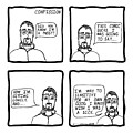 Confession Comic by Karl Addison