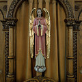 Confessional - Our Lady Of Lourdes Cathedral - Spokane by Daniel Hagerman