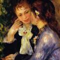 Confidences 1878 by Renoir PierreAuguste