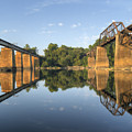 Congaree River Rr Trestles - 1 by Charles Hite