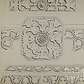 Connecticut-type Hadley Chest-detail Of Central Panel by Martin Partyka