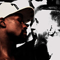 Conor Mcgregor And Floyd Mayweather Face Off  by Brian Reaves