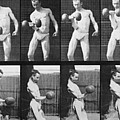 Consecutive Images Of Man Lifting by Everett