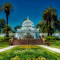 Conservatory Of Flowers - San Francisco by Mountain Dreams