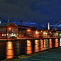 Constitution Marina - Boston Navy Yard by Joann Vitali