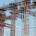 Construction Site New Bridge Arc by Goce Risteski
