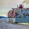 Container Ship by Greg Hjellen