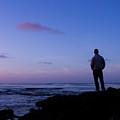 Contemplation At Sunset by Samantha Glaze