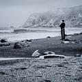 Contemplation - Beach - California by Nikolyn McDonald