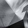 Contemporary Architecture Of The Shops At Crystals, Aria, Las Ve by Adam Romanowicz