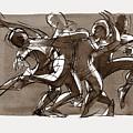 Contemporary Dance Quartet - Lucky Plush, Chicago by Judith Kunzle