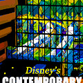 Contemporary Window To The World by David Lee Thompson