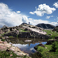 Continental Divide Above Twin Lakes 2 - Weminuche Wilderness by Bruce Lemons