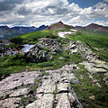 Continental Divide Above Twin Lakes 6 - Weminuche Wilderness by Bruce Lemons
