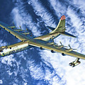 Convair B36 - Oil by Tommy Anderson