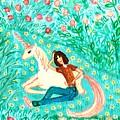 Conversation With A Unicorn by Sushila Burgess