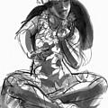 Cook Islands Ute Dancer by Judith Kunzle